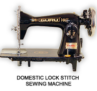 Domestic Lock Stitch Sewing Machine