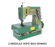2 Needles HDPE Bag Sewing