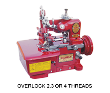 Overlock 2,3 or 4 Threads